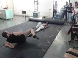 Martial Vout self-defence workshop at Saraswati College Navi Mumbai