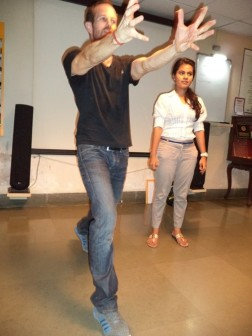 Martial Vout - Parle self-defence workshop