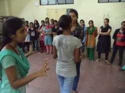 Martial Vout - Amedkar College self-defence workshop