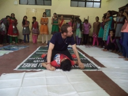 Martial Vout - self-defence classes at Ambedkar College, Wadala.