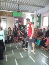 Dharavi workshop with Martial Vout, Reality Gives and USDF