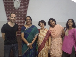 Self-defence workshop at Sophia College , Mumbai, with Martial Vout