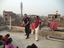 Martial Vout - India Vision Foundation Delhi